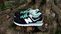 NB WL574CPC Women New Balance Suede Mesh Black Mint Green Sneaker (RobertThrashy) Tags: beautiful shopping chic runner runningshoes coupon womensshoes retrostyle popshoes shoppingonline newbalance574 fashionsneakers intrend girlsrunningshoes storediscount
