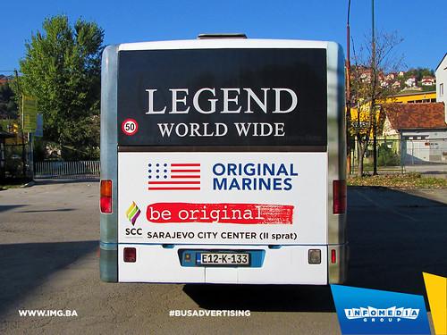 Info Media Group - Legend-Original Marines, BUS Outdoor Advertising, Sarajevo 10-2015 (4)