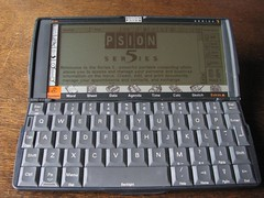 Psion Series 5 (1997) (retrocomputers) Tags: pda psion personaldigitalassistant psion5 psionseries5 armprocessor