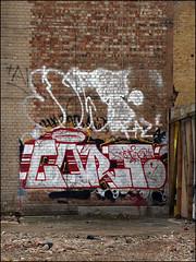 Dowt / ... (Alex Ellison) Tags: urban graffiti boobs graff eastlondon dfn dowt dowta