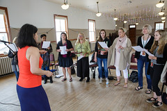 Maucha Adnet leads vocalist class at 2015 Port Townsend Jazz Workshop (Centrum Foundation) Tags: usa wednesday jazz workshop porttownsend wa centrum vocalists 2015 mauchaadnet jazzporttownsend