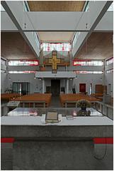 aachen 423 (beauty of all things) Tags: architecture churches kirchen aachen architektur sakralbauten stbonifatius sakrales rudolfschwarz