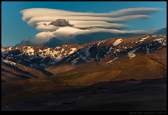 Atardecer en Cordillera del Viento