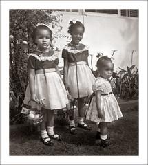 Fashion 0221-24 (Steve Given) Tags: girls fashion kids easter children familyhistory child group eggs hunt socialhistory