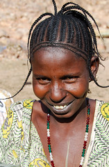 Hair (ClikSnap) Tags: fula mali timbuktu sevare sahara