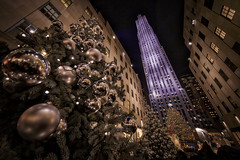 2015 Rockefeller Center Christmas Tree (gimmeocean) Tags: nyc newyorkcity ny newyork manhattan rockefellercenter ornaments 30rock christmasornaments rockefellercenterchristmastree channelgardens