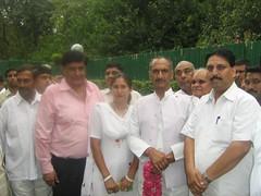 Shabnam Riyaz J P Agarwal (J P Agarwal DPCC Delhi www.jaiprakashagarwal.com) Tags: j d c p garg rakesh indu riyaz verma agarwal sabnam
