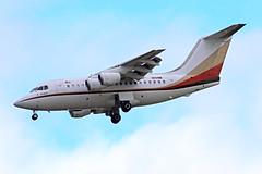 BAe146.N114M (Airliners) Tags: montex montexdrilling bae 146 bae146 avro private corporate iad n114m 11817
