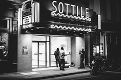 Sottile Saxophone (jm02wrx) Tags: blackandwhite bw night nightphoto nightphotography lights street streetphotography lowlight contrast sigma sigma30mm canon canont6i iso1600 bnw sottile theater kingst streetperformer performer saxophone meta photo city urban