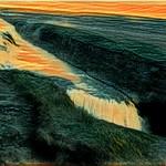 Iceland ~ Dramatic Falls ~ Landmannalaugar Route ~  Ultramarathon is held on the route each July ~  A Fails Wonder thumbnail