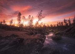 Clear Creek Sunrise (wesome) Tags: adamattoun redding california