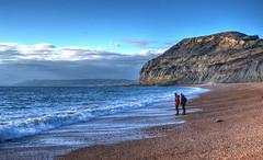 The Golden Cap, Dorset (Baz Richardson (catching up again!)) Tags: dorset thegoldencap cliffs coast seatown