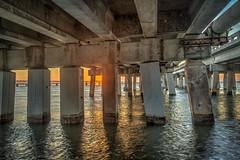 Sunset Down Under... (MichaelSOwens) Tags: hdr bahia honda state park florida keys under bridge sunset us highway 1