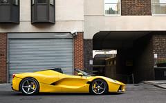 Aperta (Alex Penfold) Tags: ferrari laferrari apearta supercars supercar super car cars autos alex penfold 2017 yellow tri strato mayfair london