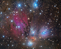 NGC 2170: Still Life with Reflecting Dust (v.2016) (Oleg Bryzgalov) Tags: deepspace astrophoto ngc2170 monoceros astrometrydotnet:id=nova1897270 astrometrydotnet:status=solved televue40