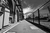 DSC00033 (Damir Govorcin Photography) Tags: barb wire australian technology park eveleigh redfern railway station shadows zeiss 1635mm sony a7rii composition perspective clouds sky