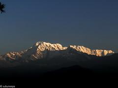 "Sarankot ""The magical Sunrise"" (neepa_chat) Tags: annapurnacircuit dschx200v sony mountain nepal sarangkot himalaya sunrise twilight morning landscape"