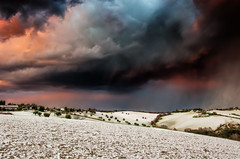 """Apocalypse"" - IN EXPLORE (emanuelezallocco) Tags: central italy marche snow cloud earthquake zone hills landscpape sunset cloudformation pentax ricoh photography italia europa italiacentrale colline innevate neve maltempo meto meteo"