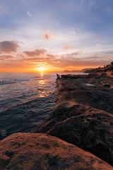 Yoshi (_lyrule) Tags: playa puesta de sol mar alicante cabo las huertas costa spain españa yoshi atardecer sunset febrero beautiful colors