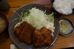 Pork Cutlet in Japanese style (pelican) Tags: dscrx100 harajuku fukuyoshi porkcutlet 福よし 上ヒレカツ
