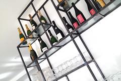 GERI_002 (fdpdesign) Tags: genova porto antico bar design portoantico shop shopdesign liguria italia arredo arredamento locali furniture ferro portabottiglie