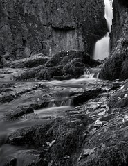 Catrigg Force (Jacob Kenworthy) Tags: yorkshire yorkshiredales landscape light le water waterfall bw blackandwhite monochrome movement motion blur rocks rocky rock stainforth catriggforce