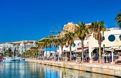 Alicanten kokemuksia (anna_koskela) Tags: mediterraneancountries travel tourism valenciaspain alicanteprovince comunidadautonomadevalencia spain landscape costablanca mediterraneansea santabárbaracastle churro tapas