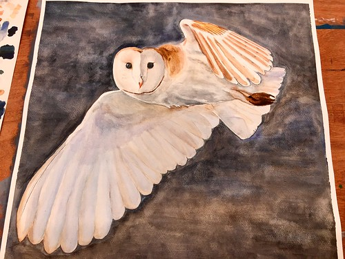 My new  aquarel painting...