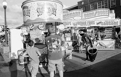 (The Frotographer) Tags: blackandwhite bw statefair indiana light lateafternoon lateday summer collections contrast tone trix400 kodak nikonf100 indianapolis food service