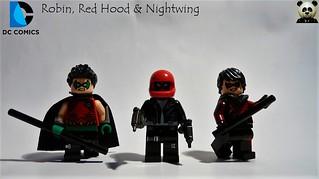 Robin, Red Hood & Nightwing