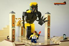 Adventurers - Egypt expedition - Anubis 1 (Zed_43) Tags: lego moc bop anubis brickpirate ancient egypt advenurers expedition gods temple