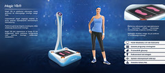 Magic Vib +collagen light (Fitnesswell) Tags: light therapy vibration collagen infrared slimmer fitness equipment