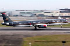 Royal Jordanian   Airbus A321-200   JY-AYT   London Heathrow (Dennis HKG) Tags: royaljordanian jordan rja airbus a321 airbusa321 aircraft airplane airport plane planespotting london heathrow egll lhr jyayt oneworld canon 7d 70200 rj