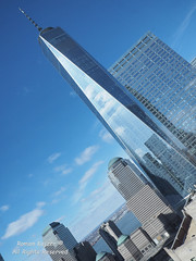 NYC - WTC Reflections 2017-03-124953 (FotoManiacNYC) Tags: nyc manhattan downtown newyork newyorkcity wtc worldtradecenter oneworldtradecenter freedomtower 1worldtradecenter theoculus september11memorial 911memorial 911 fultonstreet