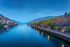 Blue Hour Heidelberg III (Michele Naro) Tags: heidelberg badenwürttemberg deutschland d80 germany germania visitgermany visitheidelberg neckar rheinneckargebiet samyang14mmf28