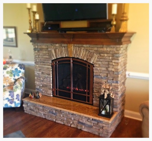 Mendota DXV-45 Direct Vent Fireplace. Signal Mtn. Tn.