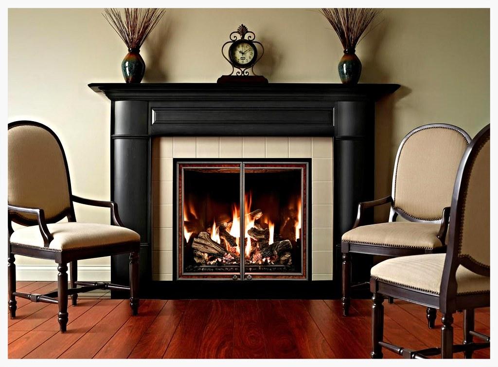 Mendota FV-41 direct vent fireplace