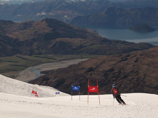 Treble Cone Masters Ski Race 201592