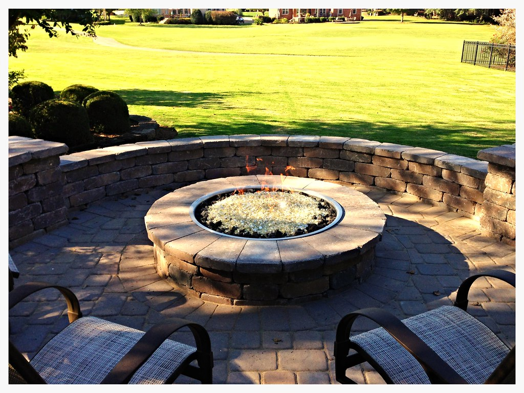 Custom Outdoor Fire Pit, Chattanooga, Tn.