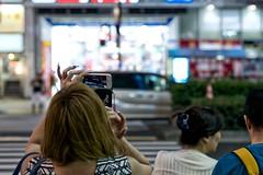 recording (sinkdd) Tags: street girl japan tokyo nikon shinjuku nail 85mm kabukicho  nikkor  d800 iphone  streetsnap nikond800 f18g afsnikkor85mmf18g