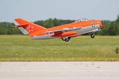 First in Flight RC Jet Rally 2015 - MIG Launch (John. Romero) Tags: radio plane canon airplane photography fly flying photo nc airport control aircraft aviation air rally flight jet first hobby airshow planes carolina wilson remote tamron rc flyin fif