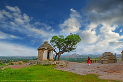 """SILENCE OF THE CLOUDS"" (GOPAN G. NAIR [ GOPS Photography ]) Tags: temple photography amazing ruins group empire hanuman karnataka hampi gops gopan vijayanagara hemakuta gopsorg gopangnair gopsphotography"