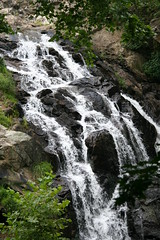 Reservoir Falls (eyriel) Tags: nature water beauty rock reading waterfall movement rocks