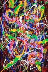 'Read Between The Lines' by Cecilia Ströyer (manyaseisay) Tags: abstract art painting artwork acrylic sweden stockholm kunst swedish konst painter sverige abstrakt konstnär ceciliaströyer ciciströyer