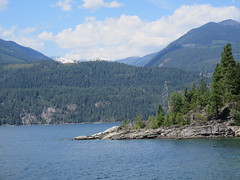 Kootenay Lake and the mountains (jamica1) Tags: lake canada ferry bc columbia british kootenay osprey mv