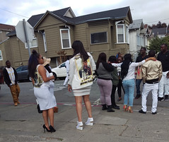 Repast - West Oakland (vision63) Tags: california black home oakland bay african young going east funeral american area murder norcal northern homicide repast imag3765
