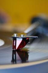 Needle Drop Black (Jim Skovrider) Tags: nikon ortofon nikkor afsvrmicronikkor105mmf28gifed capturenx d300s nikond300s