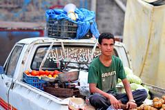 STREET PORTRAIT of ADEN, YEMEN 4 of 4 (..friend_faraway..) Tags: city boy portrait people man guy streetphotography yemen aden fruitseller nikond300s