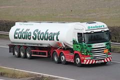 PJ62DPY - Stobart (TT TRUCK PHOTOS) Tags: truck tt m5 tanker scania stobart strensham