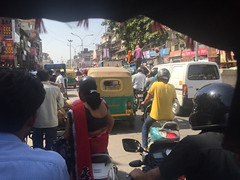 . We actually took a pedicab tour of Chandni Chowk in old Delhi... (Total TaiTai) Tags: new old india delhi chandni chowk cjindia